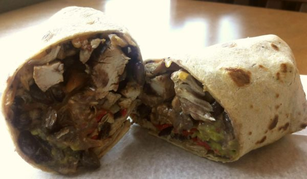 Southwestern Wrap With Chicken